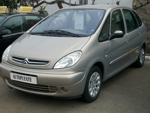 citroen xsara picasso 2 0 hdi 90 cv de ocasion en puente tocinos. Black Bedroom Furniture Sets. Home Design Ideas