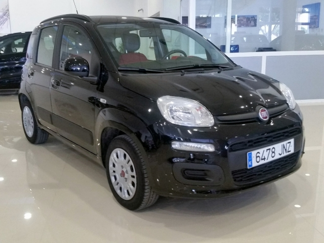 fiat panda 2016 1 2 lounge 69cv 5p petrol black. Black Bedroom Furniture Sets. Home Design Ideas