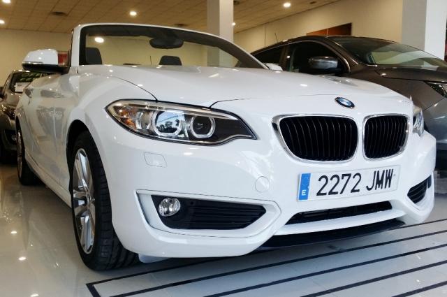 BMW SERIE 2  218d 2p. de segunda Mano en Málaga