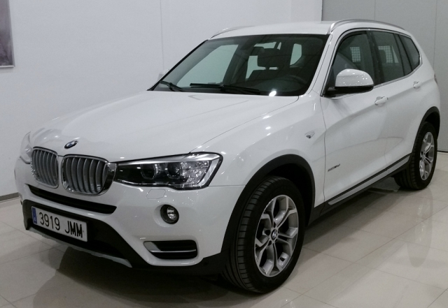 bmw x3 2016 sdrive18d 5p diesel white automatic. Black Bedroom Furniture Sets. Home Design Ideas
