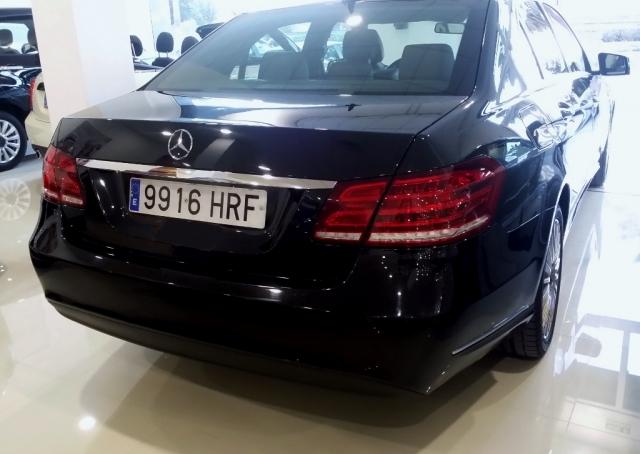 Mercedes-benz Clase E  E 220 Cdi Blue Efficiency Elegance 4p. de ocasión en Málaga - Foto 3