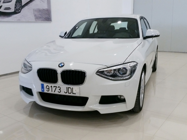 bmw serie 1 2015 116d 5p diesel white automatic. Black Bedroom Furniture Sets. Home Design Ideas