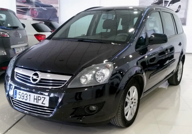 opel zafira 2013 1 7 cdti 125 cv family 5p diesel dark gray. Black Bedroom Furniture Sets. Home Design Ideas
