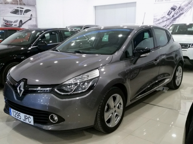 renault clio 2016 limited 1 2 16v 75 5p petrol dark gray. Black Bedroom Furniture Sets. Home Design Ideas