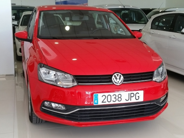 volkswagen polo 2016 advance 1 2 tsi 90cv bmt 5p petrol red. Black Bedroom Furniture Sets. Home Design Ideas