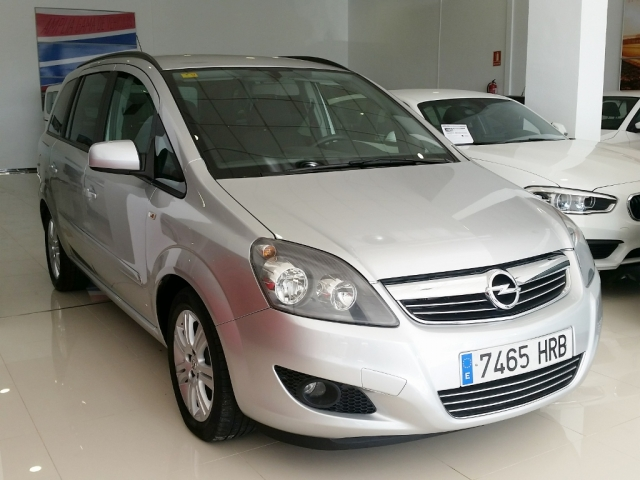 opel zafira 2013 1 7 cdti 125 cv family 5p diesel plata. Black Bedroom Furniture Sets. Home Design Ideas