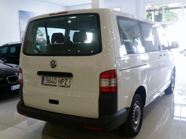 Volkswagen Transporter  Mixto Corto Tm 2.0 Tdi 140 Dsg 2.8t 5pl 4p. de ocasión en Málaga - Foto 4