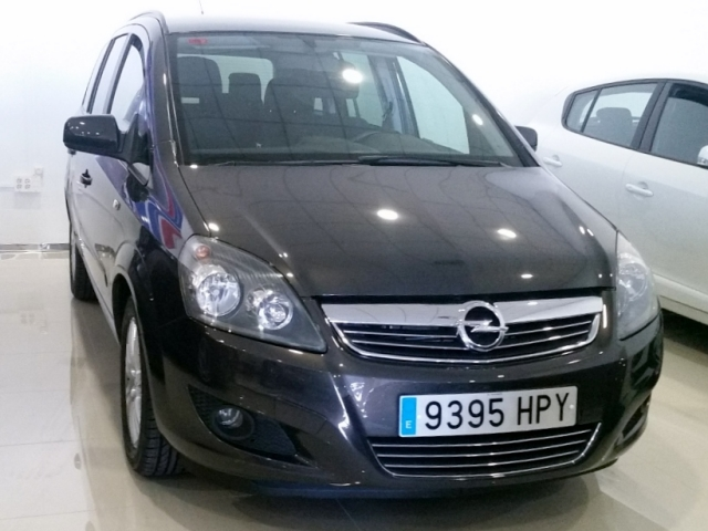 opel zafira 2013 1 7 cdti 125 cv family 5p diesel gris oscuro. Black Bedroom Furniture Sets. Home Design Ideas