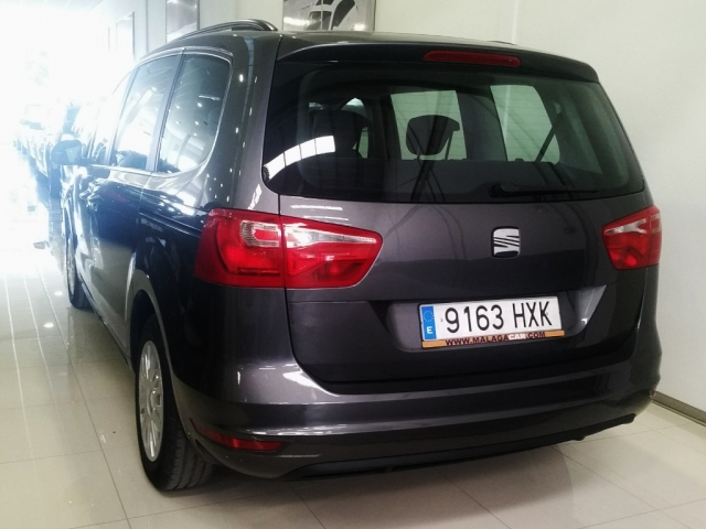 SEAT ALHAMBRA  2.0 TDI 140 CV Ecomotive Reference 5p. for sale in Malaga - Image 4