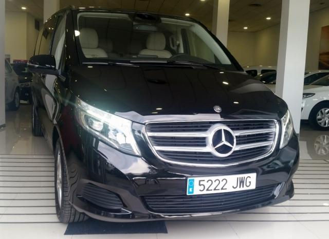 Mercedes-benz V220  Cdi de ocasión en Málaga - Foto 1