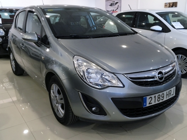 opel corsa 2013 1 2 selective start stop 5p petrol silver. Black Bedroom Furniture Sets. Home Design Ideas