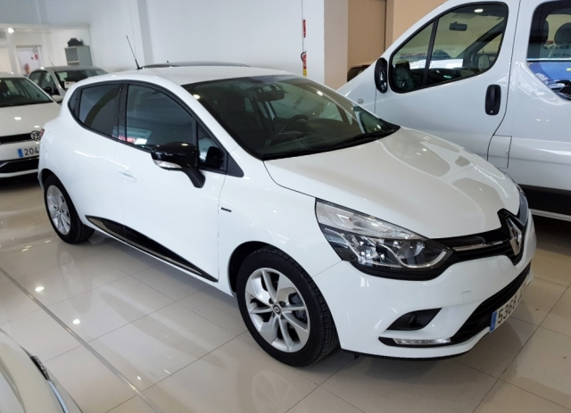renault clio 2017 limited energy tce 66kw 90cv 5p petrol white. Black Bedroom Furniture Sets. Home Design Ideas