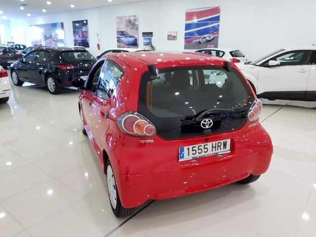 Toyota Aygo  70 Live 5p. de ocasión en Málaga - Foto 4