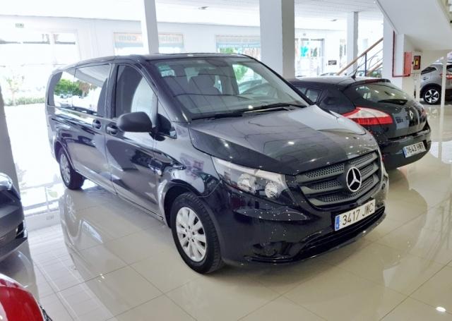 Mercedes-benz Vito  114 Bt Tourer Pro Extralarga 4p. de ocasión en Málaga - Foto 2