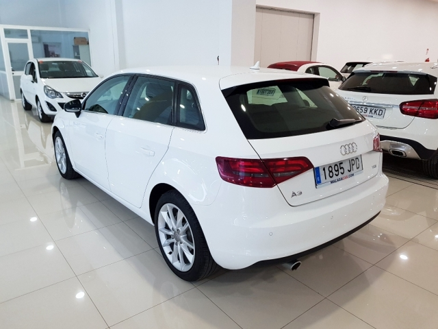 AUDI A3  1.6 TDI 110CV Sportback 5p. for sale in Malaga - Image 3