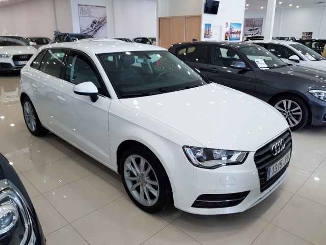 audi a3 2016 sportback 1 6 tdi 110cv stronic diesel white automatic. Black Bedroom Furniture Sets. Home Design Ideas