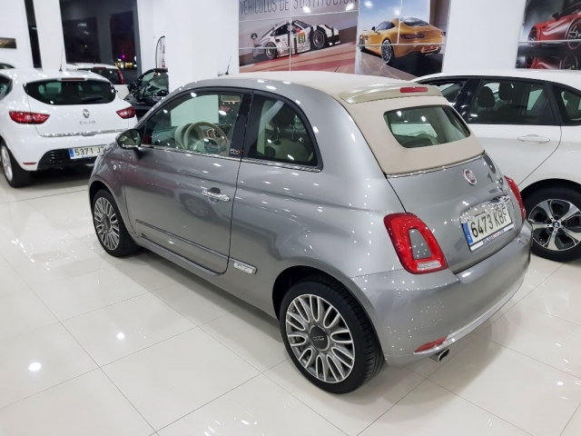 FIAT 500C  1.2 8v 51kW 69CV Lounge 2p. for sale in Malaga - Image 3