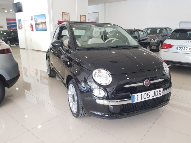 FIAT 500C  1.2 8v 69 CV Lounge 2p. used car in Malaga