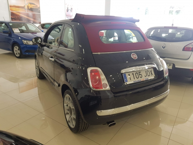 FIAT 500C  1.2 8v 69 CV Lounge 2p. for sale in Malaga - Image 3