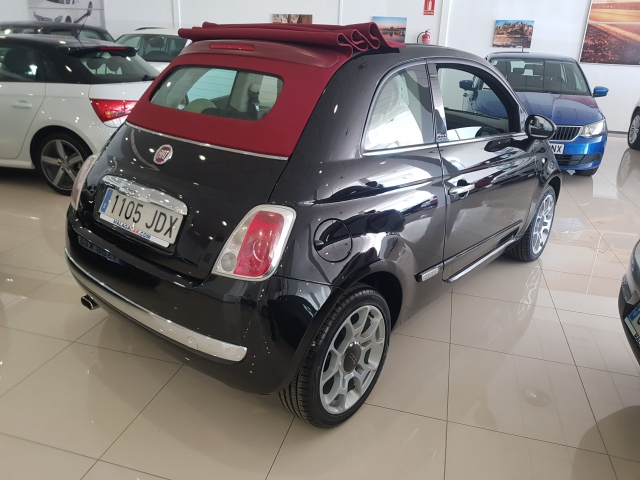 FIAT 500C  1.2 8v 69 CV Lounge 2p. for sale in Malaga - Image 4