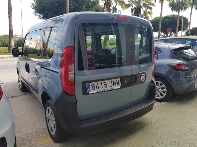 FIAT DOBLO  Panorama 1.3 Multijet 90cv E5 5p. for sale in Malaga - Image 3