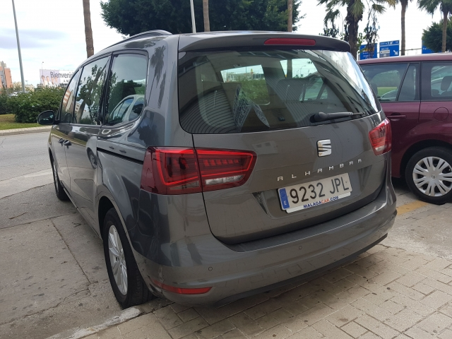 SEAT ALHAMBRA  2.0 TDI 150 Reference Plus 5p. for sale in Malaga - Image 3