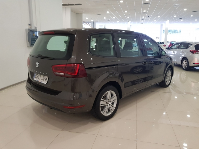SEAT ALHAMBRA  2.0 TDI 150 Ecomotive SS Reference Plus 5p. for sale in Malaga - Image 4
