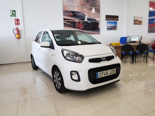 KIA PICANTO  1.0 CVVT Tech 5p. used car in Malaga