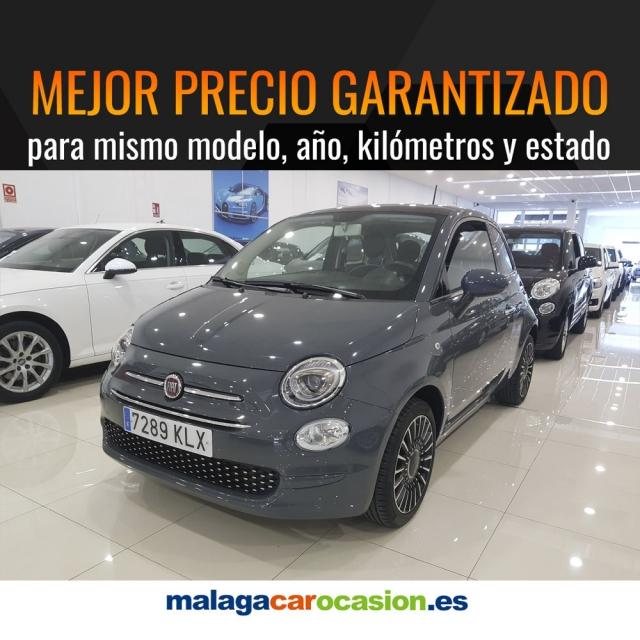 FIAT 500  1.2 8v 69 CV Lounge 2p. de ocasión en Málaga - Foto 1