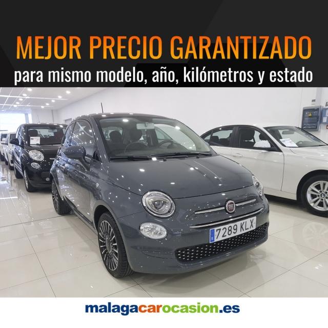 FIAT 500  1.2 8v 69 CV Lounge 2p. de ocasión en Málaga - Foto 2