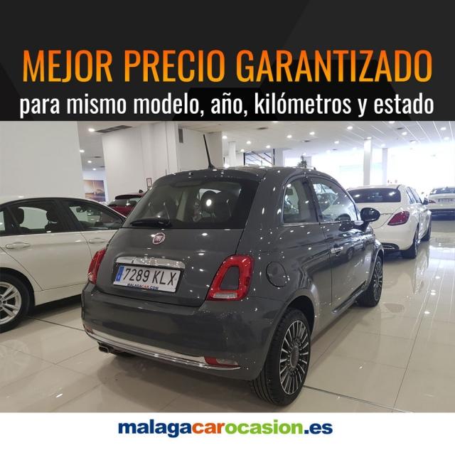 FIAT 500  1.2 8v 69 CV Lounge 2p. de ocasión en Málaga - Foto 4