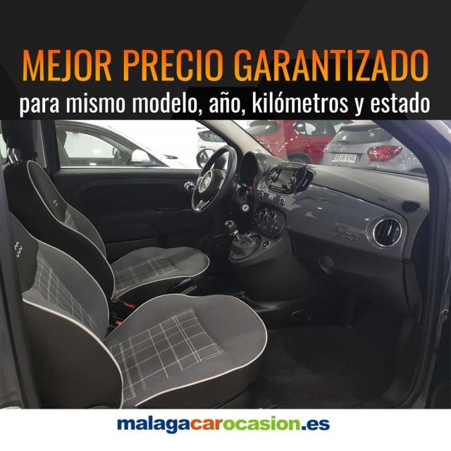 FIAT 500  1.2 8v 69 CV Lounge 2p. de ocasión en Málaga - Foto 5