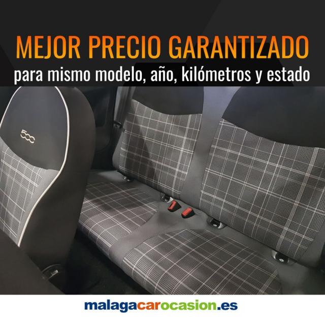 FIAT 500  1.2 8v 69 CV Lounge 2p. de ocasión en Málaga - Foto 7