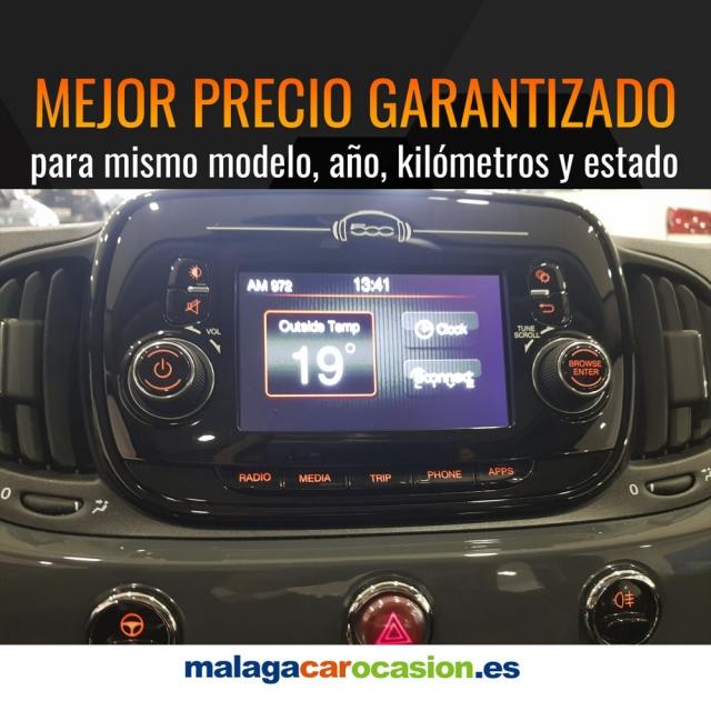 FIAT 500  1.2 8v 69 CV Lounge 2p. de ocasión en Málaga - Foto 9
