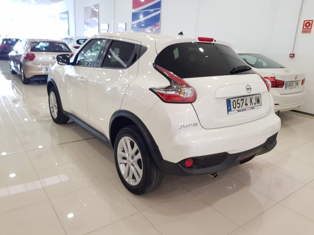 NISSAN JUKE  1.2 NCONNECTA 4X2 5p. for sale in Malaga - Image 3