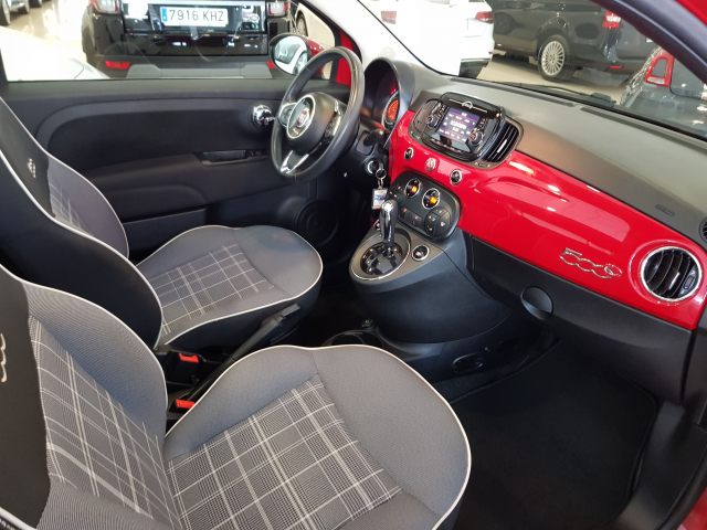FIAT 500  1.2 8v 69 CV Lounge 2p. for sale in Malaga - Image 7
