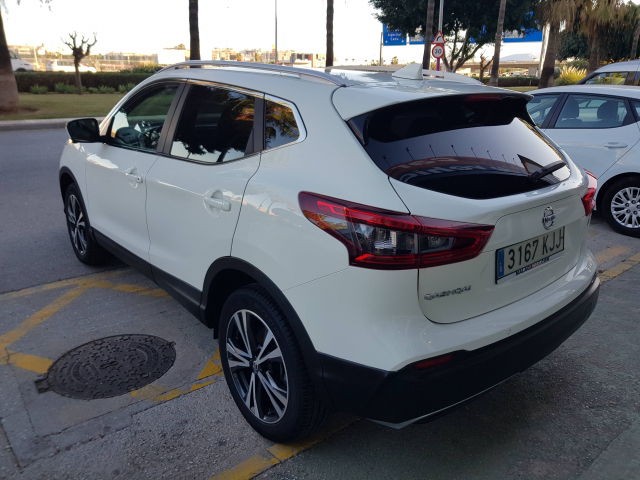 NISSAN QASHQAI 1.5 dCi NCONNECTA 5p. for sale in Malaga - Image 4