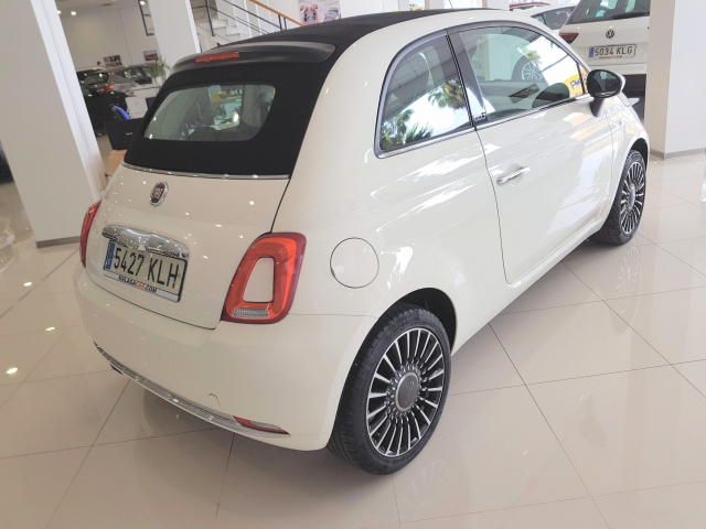 FIAT 500C  1.2 8v 51kW 69CV Lounge 2p. for sale in Malaga - Image 4