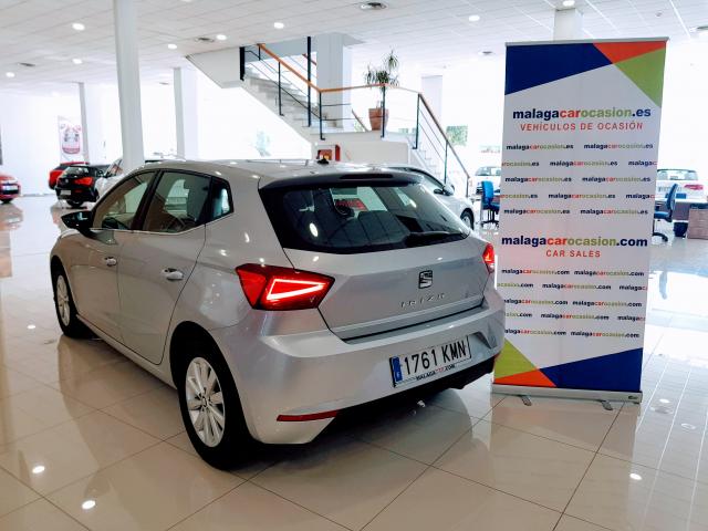 SEAT IBIZA  1.0 EcoTSI 85kW 115CV DSG Xcellence 5p. for sale in Malaga - Image 3