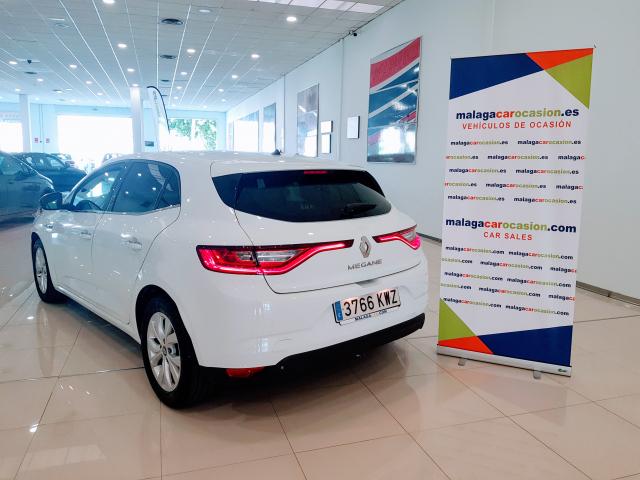 RENAULT MEGANE Limited TCe EDC 103 kW 140CV  de ocasión en Málaga - Foto 4