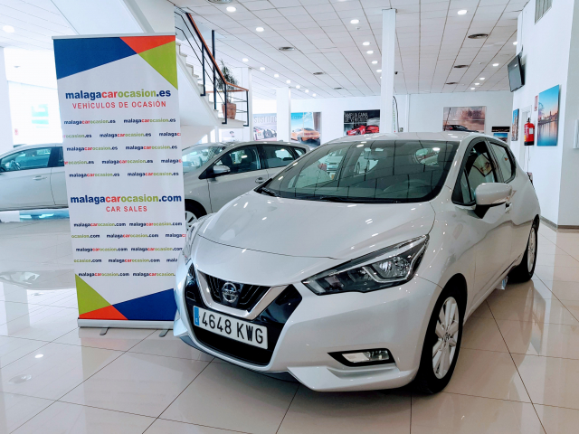 NISSAN MICRA IGT 74 kW 100 CV E6D Acenta for sale in Malaga - Image 1