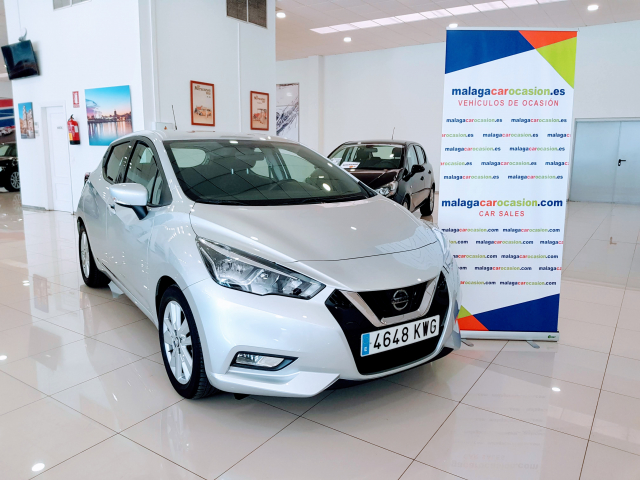 NISSAN MICRA IGT 74 kW 100 CV E6D Acenta for sale in Malaga - Image 2
