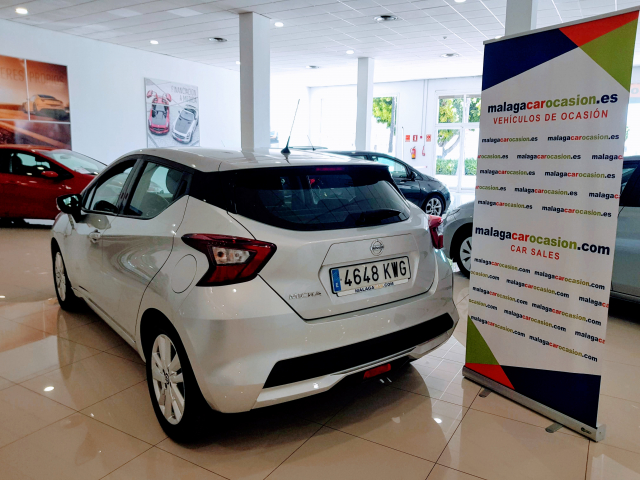 NISSAN MICRA IGT 74 kW 100 CV E6D Acenta for sale in Malaga - Image 3