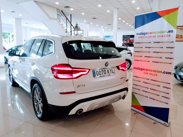 BMW X3  sDrive18d Xline 5p. for sale in Malaga - Image 3