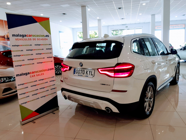 BMW X3  sDrive18d Xline 5p. for sale in Malaga - Image 4
