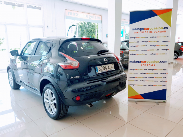 NISSAN JUKE  1.5 dCi NCONNECTA 4X2 5p. for sale in Malaga - Image 3