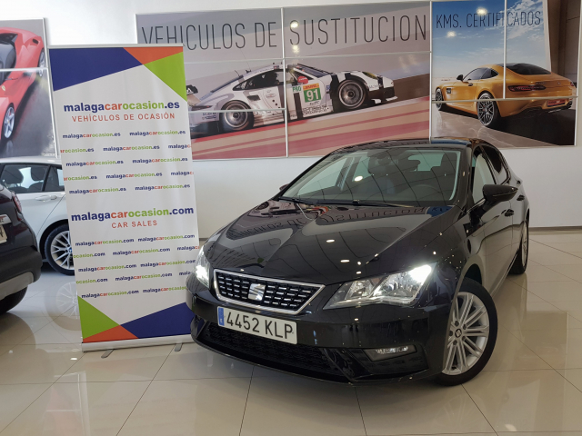 SEAT LEON León 1.4 TSI 110kW ACT DSG7 StSp Xcellence 5p. for sale in Malaga - Image 1