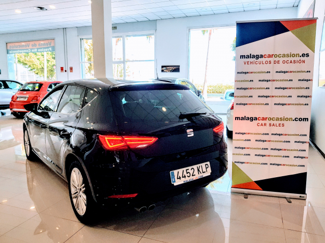 SEAT LEON León 1.4 TSI 110kW ACT DSG7 StSp Xcellence 5p. for sale in Malaga - Image 3