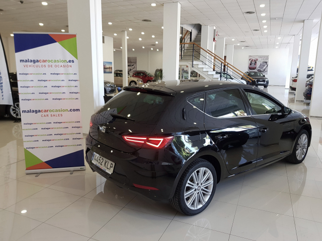 SEAT LEON León 1.4 TSI 110kW ACT DSG7 StSp Xcellence 5p. for sale in Malaga - Image 4