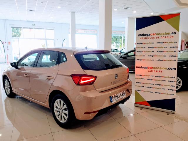 SEAT IBIZA  1.0 EcoTSI 85kW 115CV Xcellence 5p. for sale in Malaga - Image 4